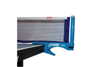 Double Happiness International Clip On Table Tennis Net and Post Set