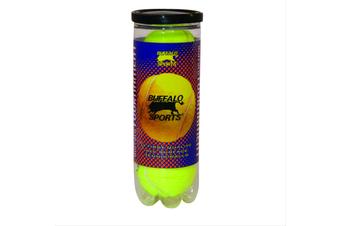 Buffalo Tournament Tennis Balls - Can of 3 Balls