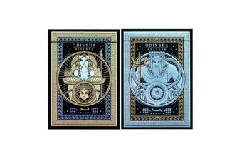 Odissea Minerva Neptune Playing Cards Thirdway 2-Deck Set