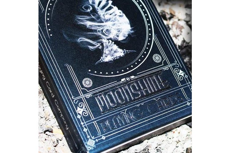 Midnight Moonshine Playing Cards Poker Magic Deck