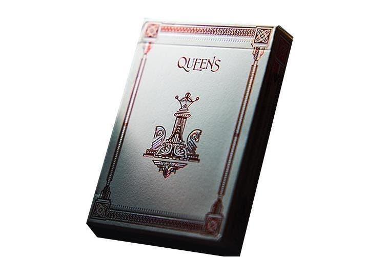 Queens Playing Cards Deck sleek slipstream finish