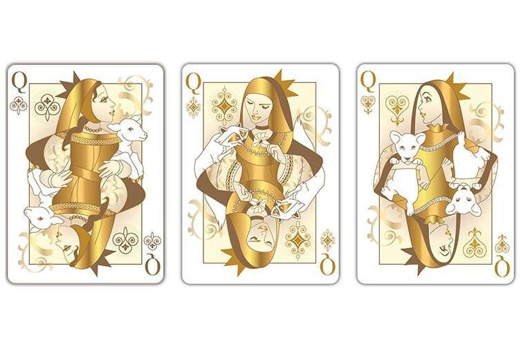 The Other Kingdom Playing Cards Animal Edition by Natalia Silva