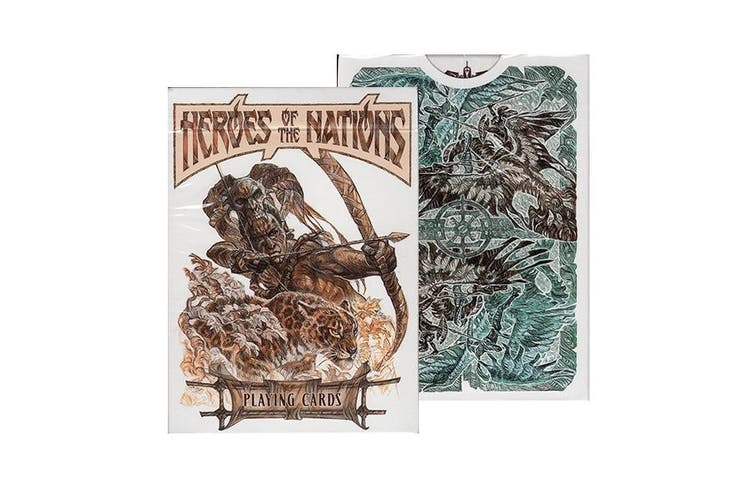 Heroes of the Nations Playing Cards Light Edition Graphic Arts