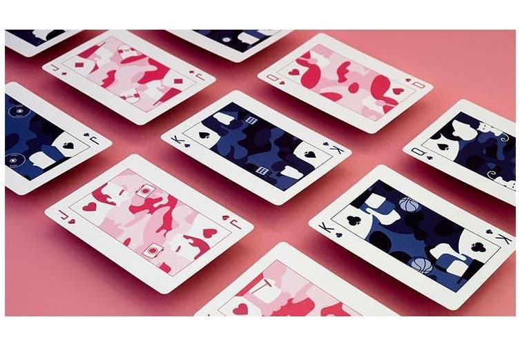 Pop Camo Playing Cards by Riffleshuffle 60s Pop Art Deck