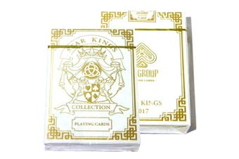 Star Kings Playing Cards Gold Edition Deck Metallic Inks