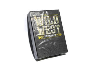 Wild West Playing Cards The Black Hills Edition by Midnight Cards Classic Finish