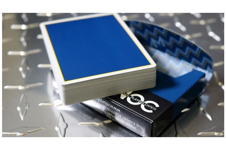 NOC Playing Card Murphy's Magic Signature Blue Cardistry