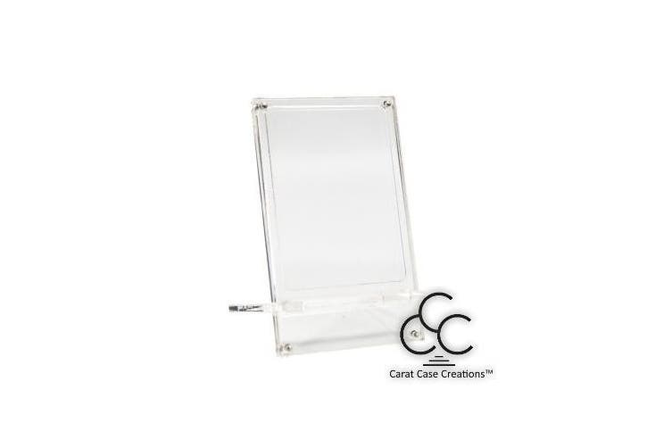 Playing Card Display Stand XDS by Carat Case Creations Holds 1-Deck