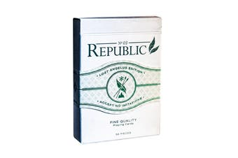 Republic No 3 Playing Cards Lost Angelus Edition Jeremy Griffith