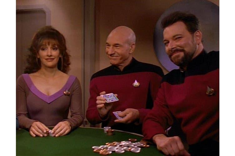 Star Trek Playing Cards Picard Vintage 1995 Rare The Next Generation 4-Deck Set
