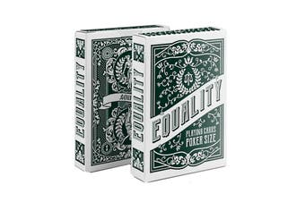Equality Playing Cards By Passione Italy Lady of Justice