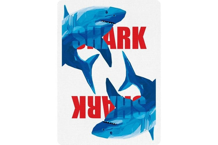 Shark Playing Cards by Riffle Shuffle King of the Seas Great White Shark
