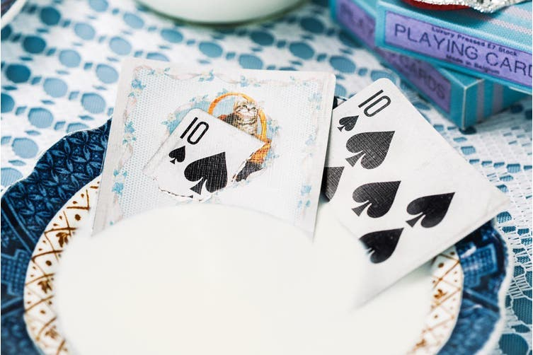 Madison Blue Kittens Playing Cards un-marked deck Ellusionist