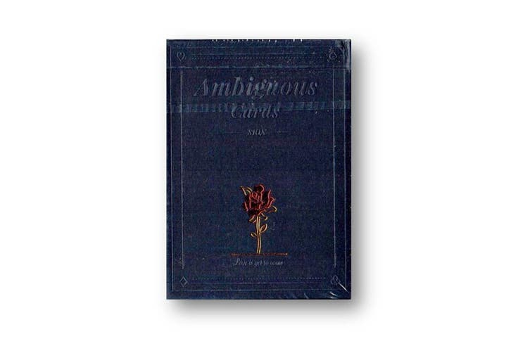 Ambiguous Playing Cards Black Edition designed by mentalist Sion