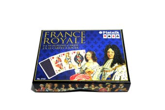 France Royale Playing Cards Luxury Royalty by Piatnik 2-deck Set