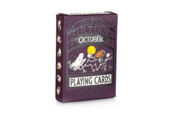 Fulton's October Playing Cards v3 Halloween 2020 by Art of Play New Release