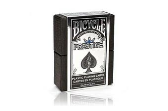 Prestige Playing Cards Poker Deck Bicycle Blue Edition 100% Plastic