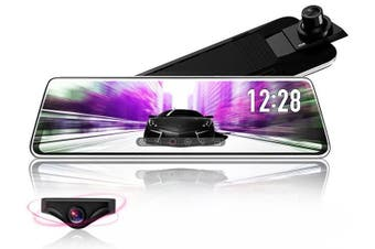 Full HD 1080P Stream Rear View Smart Mirror - D230-6MBMB / Factory / With 32G Card