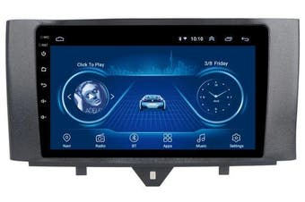 "9"" Android 8.1 For Mercedes-Benz Smart Fortwo 2011-2015 GPS Bluetooth Car Player Navigation Radio Stereo DVD Head Unit In Dash Plus OEM Fascia - Smart Fortwo / 2012 / Left Hand Drive"