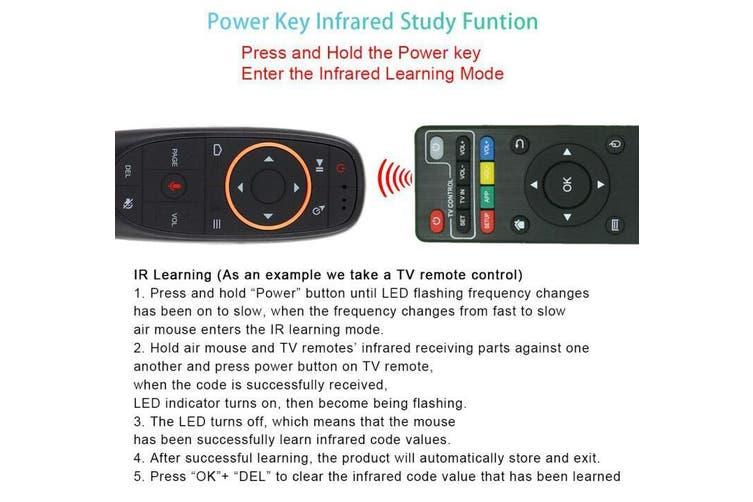 Android 9.0 Smart TV Box - Factory / AU Plug / 2GB16GB backlit keyb