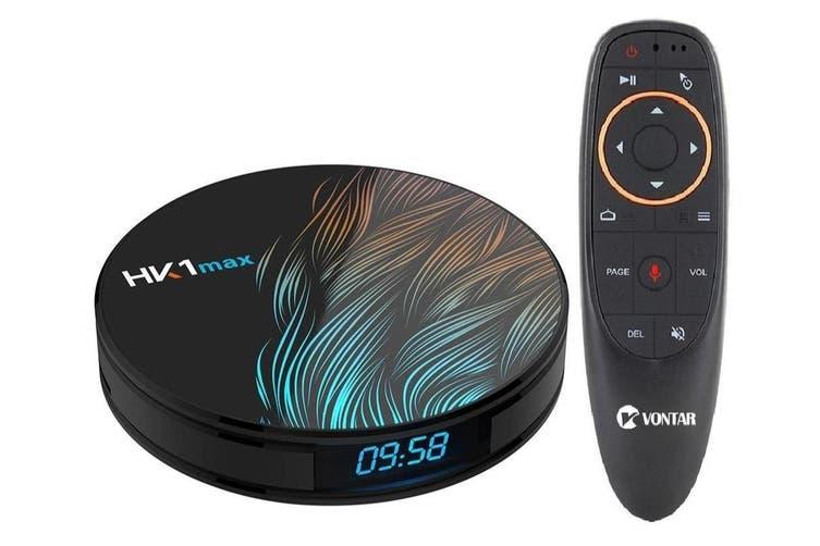 Android 9.0 Smart TV Box - Factory / UK Plug / 4GB32GB G10 voice