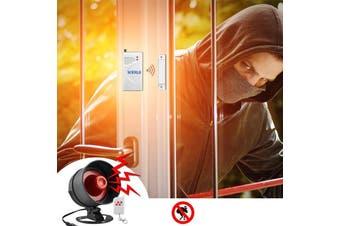 Wireless Burglar Alarm Security System - Kit 4