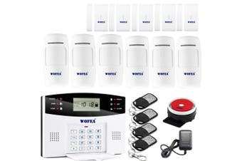 Wireless Home Security GSM Alarm System - Set 02