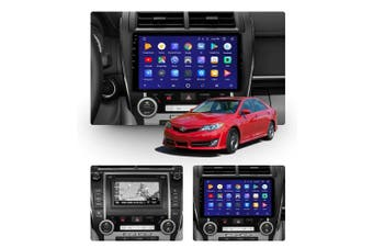 """10.2"""" Android 8.1 Toyota Camry 2012-2017 GPS Bluetooth Car Player Navigation Radio Stereo DVD Head Unit In Dash Plus OEM Fascia - 2013 / Left Hand Drive"""