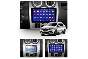 """10.2"""" Android 8.1 Renault Logan 1 2010-2015 GPS Bluetooth Car Player Navigation Radio Stereo DVD Head Unit In Dash Plus OEM Fascia - 2014 / Right Hand Drive"""