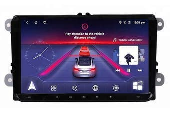 """9"""" Android 8.1 For Volkswagen Skoda Universal with CAM GPS Bluetooth Car Player Navigation Radio Stereo DVD Head Unit In Dash Plus OEM Fascia - Skoda Superb / Left Hand Drive"""