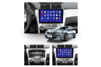 "10.2"" Android 8.1 Toyota Camry 8 50 55 2011-2014 w CAM GPS Bluetooth Car Player Navigation Radio Stereo DVD Head Unit In Dash Plus OEM Fascia - 2013 / Left Hand Drive"