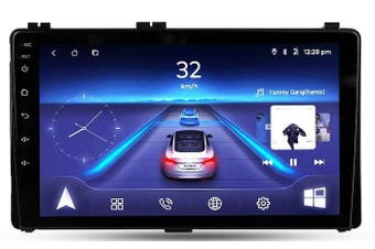 """9"""" Android 8.1 Toyota Corolla 2017-2018 w CAM GPS Bluetooth Car Player Navigation Radio Stereo DVD Head Unit In Dash Plus OEM Fascia - 2018 / Left Hand Drive"""
