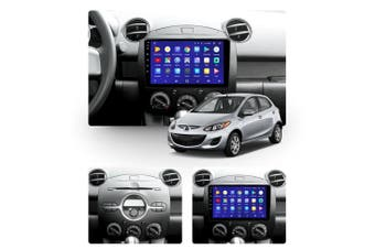 """10.2"""" Android 8.1 Mazda 2 2007-2014 w CAM GPS Bluetooth Car Player Navigation Radio Stereo DVD Head Unit In Dash Plus OEM Fascia - 2007 / Left Hand Drive"""