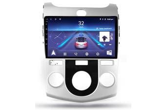 "9"" Android 8.1 KIA Cerato 2008-2013 w CAM GPS Bluetooth Car Player Navigation Radio Stereo DVD Head Unit In Dash Plus OEM Fascia - 2013 / Left Hand Drive"