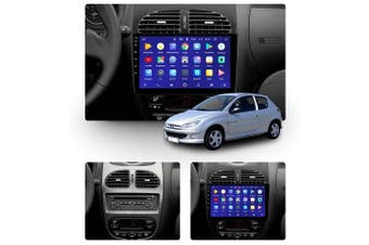 """10.2"""" Android 8.1 Peugeot 206 1 1998-2012 w CAM GPS Bluetooth Car Player Navigation Radio Stereo DVD Head Unit In Dash Plus OEM Fascia - 2003 / Right Hand Drive"""