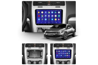 """9"""" Android 8.1 Volkswagen Scirocco 2008-2015 w CAM GPS Bluetooth Car Player Navigation Radio Stereo DVD Head Unit In Dash Plus OEM Fascia - 2015 / Left Hand Drive"""
