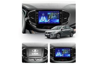 "10.2"" Android 8.1 LADA Vesta Cross Sport 2015-2019 w CAM GPS Bluetooth Car Player Navigation Radio Stereo DVD Head Unit In Dash Plus OEM Fascia - 2015"