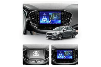 "10.2"" Android 8.1 LADA Vesta Cross Sport 2015-2019 w CAM GPS Bluetooth Car Player Navigation Radio Stereo DVD Head Unit In Dash Plus OEM Fascia - 2019"