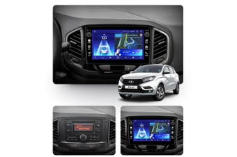 "10.2"" Android 8.1 LADA XRAY 2015-2019 w CAM GPS Bluetooth Car Player Navigation Radio Stereo DVD Head Unit In Dash Plus OEM Fascia - 2017"