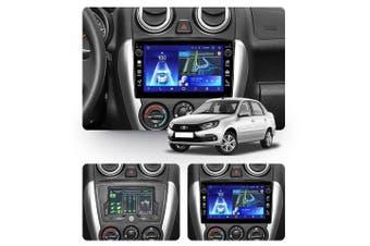 "10.2"" Android 8.1 LADA Granta Sport 2011-2018 w CAM GPS Bluetooth Car Player Navigation Radio Stereo DVD Head Unit In Dash Plus OEM Fascia - 2012"