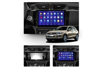 "10.2"" Android 8.1 Zotye T600 2014-2019 w CAM GPS Bluetooth Car Player Navigation Radio Stereo DVD Head Unit In Dash Plus OEM Fascia - 2018"