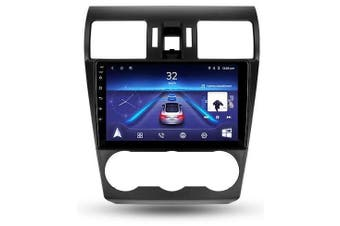 """9"""" Android 8.1 Subaru Forester 2012-2015 w CAM GPS Bluetooth Car Player Navigation Radio Stereo DVD Head Unit In Dash Plus OEM Fascia - 2012 / Left Hand Drive"""