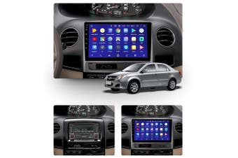 """10.2"""" Android 8.1 Geely MK 1 2006 - 2013 w CAM GPS Bluetooth Car Player Navigation Radio Stereo DVD Head Unit In Dash Plus OEM Fascia - 2006"""