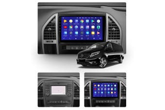 """10.2"""" Android 8.1 Mercedes Benz Vito 3 W447 2014 - 2020 GPS Bluetooth Car Player Navigation Radio Stereo DVD Head Unit In Dash Plus OEM Fascia - 2015 / Right Hand Drive"""