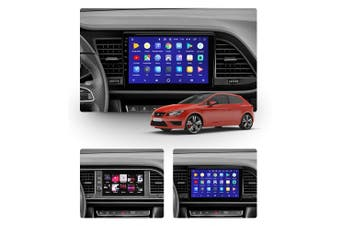 "10.2"" Android 8.1 Leon 3 2012 - 2020 GPS Bluetooth Car Player Navigation Radio Stereo DVD - 2012 / Left Hand Drive"