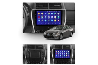 "10.2"" Android 8.1 Toyota Camry 7 XV 50 55 2014 - 2017 GPS Bluetooth Car Player Navigation Radio Stereo DVD Head Unit In Dash Plus OEM Fascia - 2016 / Left Hand Drive"