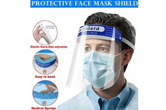 Face Shield Mask Film Shields Visor Safety Cover Anti-Fog - 10pcs