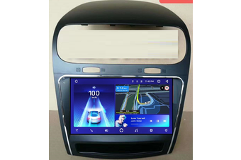 "9"" Android 8.1 Dodge Journey 2013-2019 Head Unit In Dash Plus OEM Fascia - 2018 / Left Hand Drive"