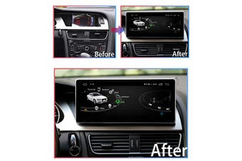 "10.25"" Luxury Wide Screen Android 9.0 For AUDI A4L 2009-2016 - 2012 / Right Hand Drive"