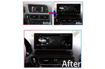 "10.25"" Luxury Wide Screen Android 9.0 For AUDI Q5 2009-2017 - 2009 / Right Hand Drive"